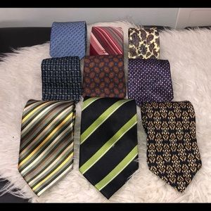 Gucci Christian Dior Etc.. bundle ties